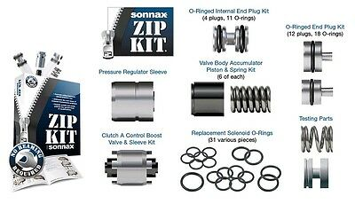 AU459.50 • Buy ZF6HP26 Generation 1 Automatic Transmission Problem Solving Sonnax Zip Kit