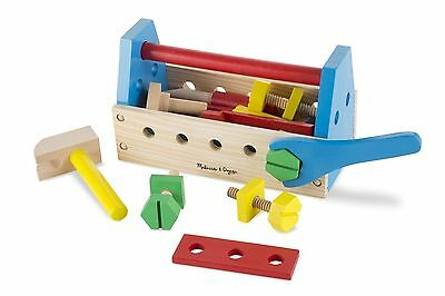 Construction Toy Set Take-Along Tool Kit Wooden - Children 24 Pcs Melissa & Doug • 13.12£