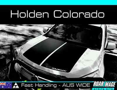 AU139 • Buy 2012-15 HOLDEN Colorado Bonnet Stripes Decals Stickers Decal Sticker Stripe Z71