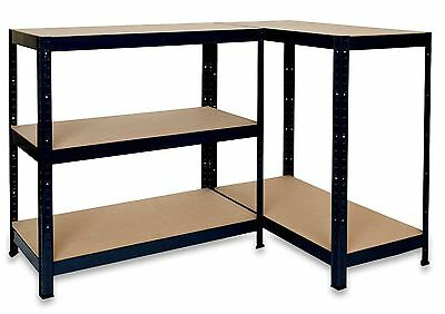 £30.99 • Buy Boltless Shelving Heavy Duty Rack For Home Warehouse Shop Display Garage Shed