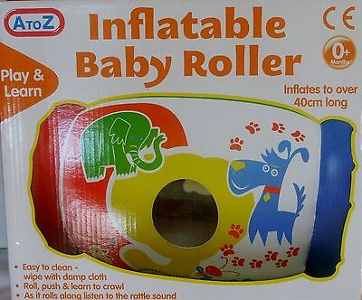 A To Z Inflatable Baby Roller Toy • 9.45£