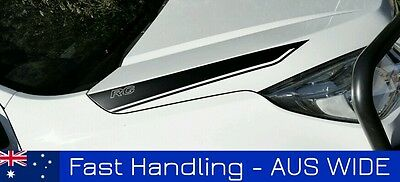 AU59 • Buy 2012-2016 Holden Colorado Bonnet Stripes Decals Stickers Decal  RG LTZ Z71