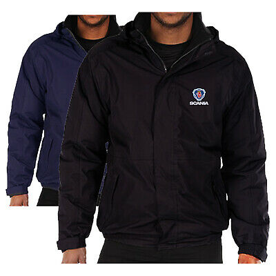 £35.99 • Buy Scania Logo Embroidered Fleece Lined Waterproof Jacket Regatta Workwear Outdoor