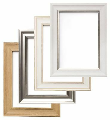 £33.99 • Buy Shabby Chic Photo Frame Picture Poster Frames White ,Oak, Silver  A1 A2 A3 A4 A5