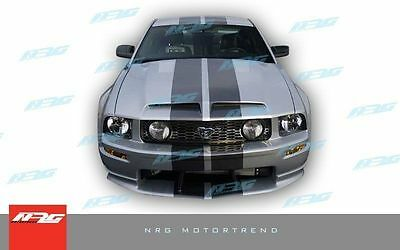 $263 • Buy For Mustang 2005-2009 05 06 07 08 09 Ford GT500 Style Fiberglass Hood GT500-152H