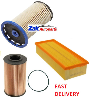 AU47.68 • Buy FOR VW Passat B7 |2011-2014| 2.0 TDI Air Oil Fuel Filters Service Kit BRAND NEW