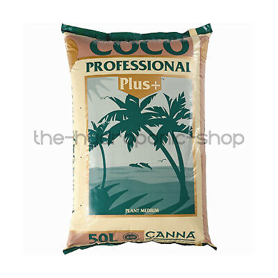 Canna Coco Pro Professional Plus 50L Bag Hydroponic Coir Growing Media • 19.95£