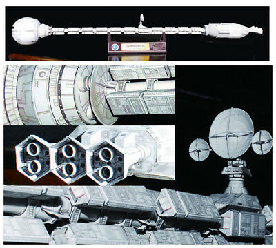 Film 2001 A Space Odissey USS Discovery XD-1 Spaceship Paper Model Kit 60cm Long • 24.99£