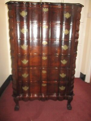 £250 • Buy 6 Drawer Traditional South African Imbuia  Linenfold  Cape Dutch Chest