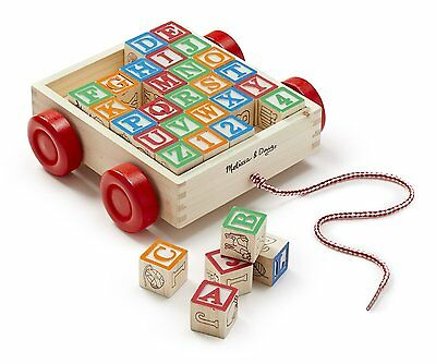 Wooden ABC Blocks Cart 11169 Melissa & Doug   • 13.78£