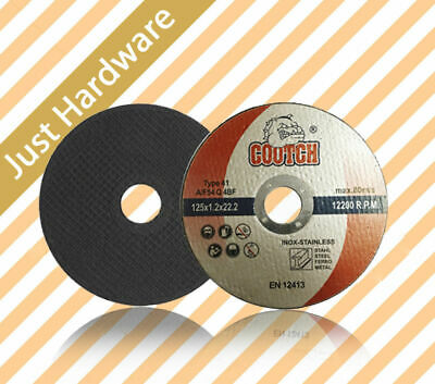 AU12.99 • Buy ULTRA THIN METAL CUTTING DISC STAINLESS Steel 4'' 4.5'' 5'' 9'' 14'' 100 125 Mm