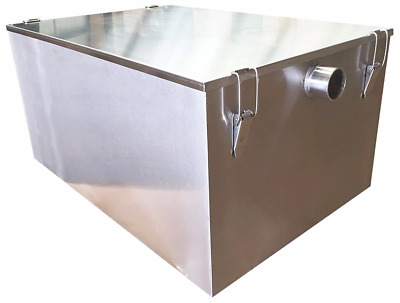 £215 • Buy Commercial Grease Trap Stainless Steel Interceptor Fat Traps Restaurant Takeaway