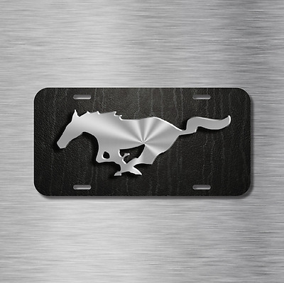 Mustang Pony Vehicle Front License Plate Auto Car NEW Gt Hatchback Coupe • 14.99$