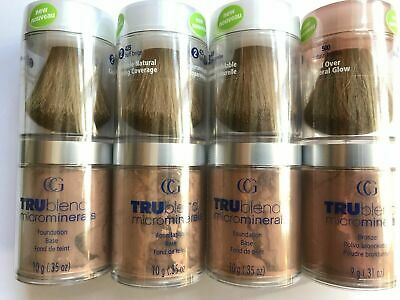 Covergirl TRUblend Microminerals Loose Face Powder With Brush • 5.95£