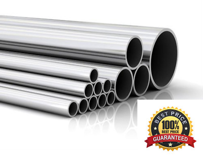 Stainless Steel Round Tube / Pipe - VARIOUS SIZES 4MM - 42MM - 316 GRADE • 10.17£