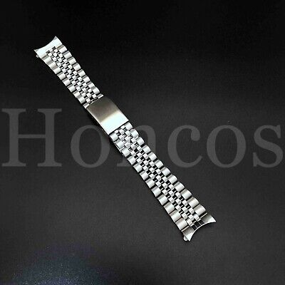 $ CDN17.66 • Buy 20 MM President Jubilee Watch Band Bracelet Fits For Rolex Stainless Silver USA