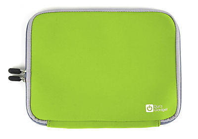 Green Case With Dual Zip For Use With VTech Glamour Girl XL Laptop 80-117964-004 • 11.99£