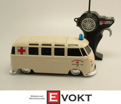 £64.35 • Buy Maisto Tech RC VW Bus Ambulance Van Remote Controlled Bully Red Cross DRK 1:24