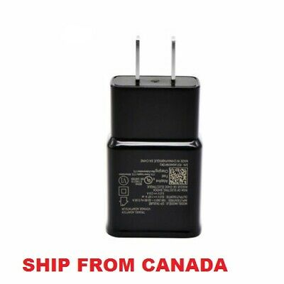 $ CDN9.99 • Buy Samsung Wall Fast Charger For Galaxy S8 S8 Plus Tab S3 S9 S4 S5 S6 S7 Note 8 9