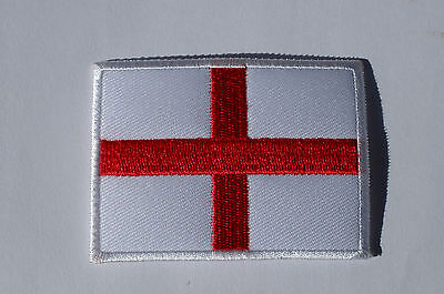 England Flag - George Cross -  Iron/Sew On Patch No233 • 2£