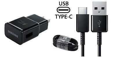 $ CDN10.91 • Buy Samsung Oem Fast Charger+type C Cable For Samsung Galaxy S8 Active Sm-g892(blk)