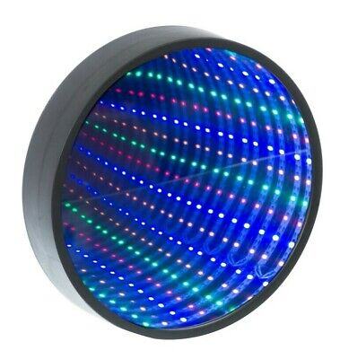 £14.95 • Buy Round Infinity Mirror 42 LED Tunnel Light - Global Gizmos