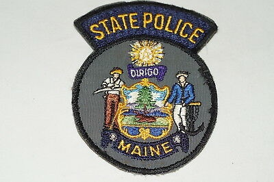 $5 • Buy US State Police Maine Police Patch 2