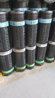 £36.99 • Buy HIGH GRADE 4.5mm Thick!! TORCH ON Roofing Felt SBS GREEN Mineral RRP £75
