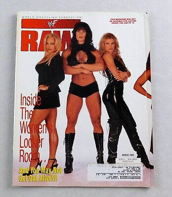 $ CDN15.21 • Buy Chyna Sable Debra March 1999 WWF RAW Wrestling Magazine WWE 2-Sided Poster Val