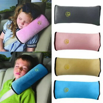 Child Car Safety Seat Belt Pillow Shoulder Strap Pad Cushions Head Supports Kids • 4.85£