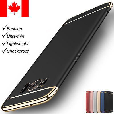 $ CDN7.99 • Buy Luxury Slim Shockproof Armor Hard Case Cover For Samsung Galaxy S7/S8Plus/Note8