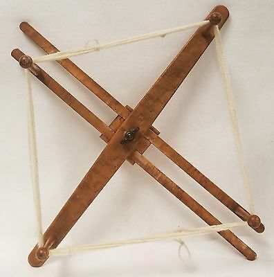 Antique Birds Eye Maple Yarn Winder Shaker Or Similar  • 301.46£