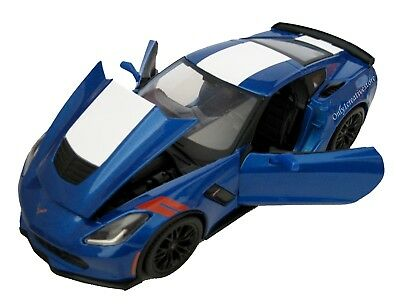 $20.95 • Buy MAISTO 2017 Chevrolet Corvette Grand Sport 1:24 Blue Diecast Car