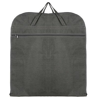 Hoesh UK Grey Breathable Travel Suit Jacket Carrier Protector Garment Cover Bags • 6.99£
