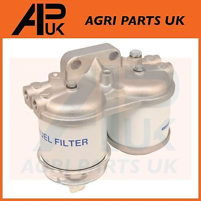 Double Fuel Filter Assembly Case International 644 684 784 685 885 955 Tractor • 33.79£