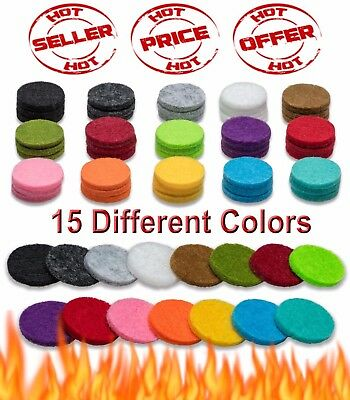AU7.71 • Buy Essential Oil Diffuser Necklace Refill Pads For Aromatherapy Pendant Locket