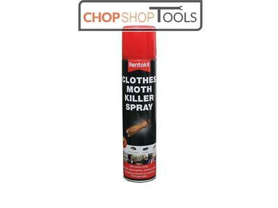 Rentokil RKLPSC100 Clothes Moth Killer Spray 300ml • 6.67£