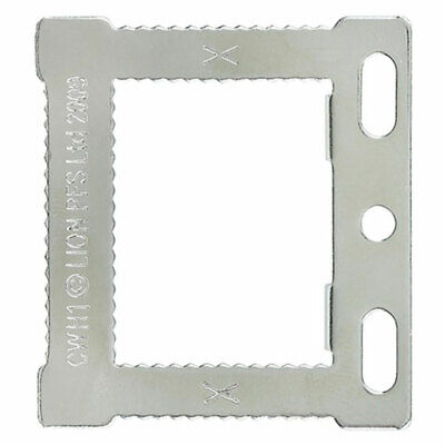 Square Sawtooth Hangers CWH1 Canvas & Hollow Back Picture Frames + Screws • 2.79£