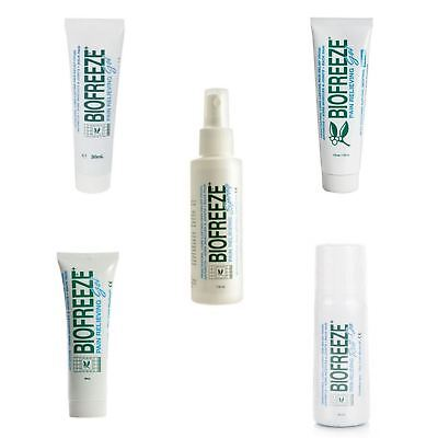 Biofreeze  Pain Relief Tube Gel Roll On Spray  Full Range • 10.42£