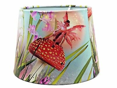Fairy Lampshade Light Shade Girls Kids Woodland Bedroom Nursery Accessories Gift • 26.99£