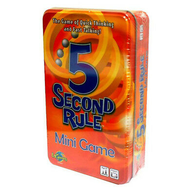 AU20.95 • Buy 5 Second Rule Tin Mini Game NEW