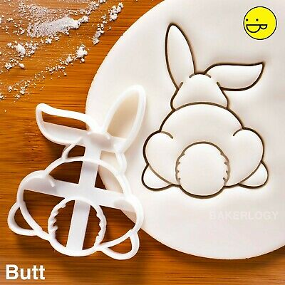 £8.11 • Buy Bunny Butt Cookie Cutter   Rabbit Rabbits Bunnies Easter Day Egg Hunt Biscuit