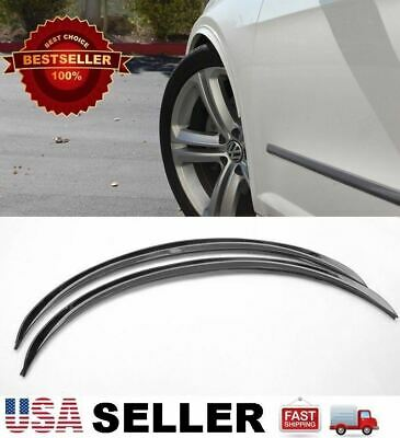 $ CDN13.78 • Buy 2 X 29  Black Arch Wide Fender Flare Extension Diffuser Protector Lip For Ford