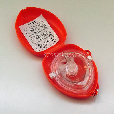 £3.99 • Buy 1 X CPR Face Shield Keychain CPR Face Shield With Filter First Aid Resus Shield