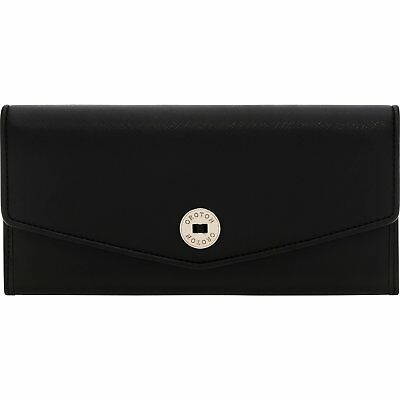 AU109.99 • Buy Oroton Womens Leather Wallet Melanie Texture Slim Clutch Black Or Navy RRP $245