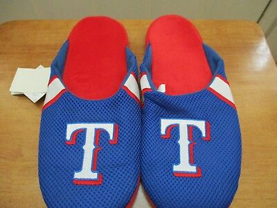 £11.61 • Buy Brand New With Tags Texas Rangers Jersey Mesh Slide Slippers Assorted Sizes