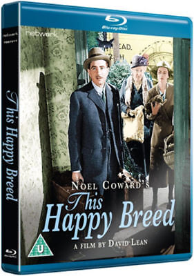 Blu Ray THIS HAPPY BREED. John Mills. 2 Discs. New Sealed. • 11.99£