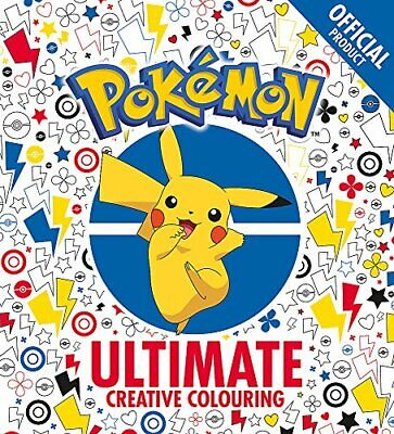 The Official Pokemon Ultimate Creative Colouring By Pokemon New Paperback Book • 8.18£