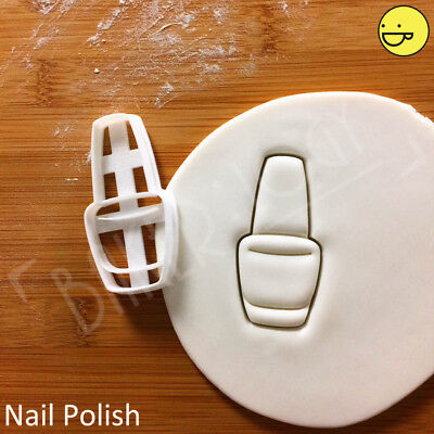 £5.91 • Buy Nail Polish Cookie Cutter | Hens Party Beauty Cosmetic Manicure Princess Biscuit