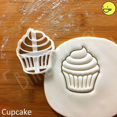 £8.11 • Buy Cupcake Cookie Cutter | Cupcakes Princess Fairy Cake Patty Party Cute Biscuit